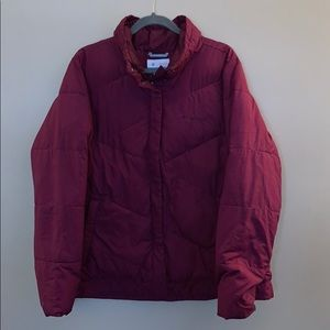 Columbia winter jacket size XL women's